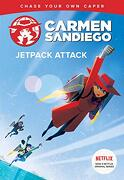 Jetpack Attack (Carmen Sandiego Chase-Your-Own Capers) (libro en Inglés)