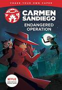 Endangered Operation (Carmen Sandiego Chase-Your-Own Capers) (libro en Inglés)