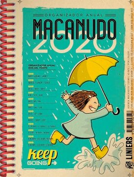 portada Macanudo 2020 Anillada Lluvia