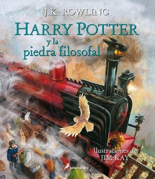 portada Harry Potter Y La Piedra Filosofal. Edición Ilustrada