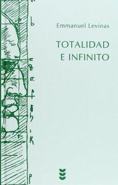 portada Totalidad e Infinito: Ensayo Sobre la Exterioridad