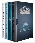 Serie Reina Roja (4 Volumenes