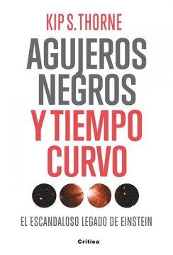 portada Agujeros Negros y Tiempo Curvo