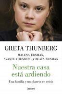 portada NuestraCasaEstaArdiendo - Greta Thunberg - Lumen