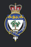 Dowling: Dowling Coat of Arms and Family Crest Notebook Journal (6 x 9 - 100 Pages) (libro en Inglés)