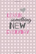 Learn Something new Everyday: Book new Year new me    new Year Resolution Journal (libro en Inglés)