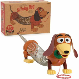 Poof Products Slinky Dog Retro Toy #225  NIB  2003 (new)