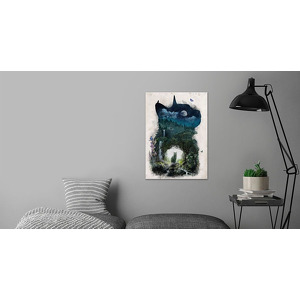 Displate.com-'The Realm of Cats' Poster by Barrett Biggers   Displate m-matte-no-frame( 98-m-matte-no-frame 1118821 )
